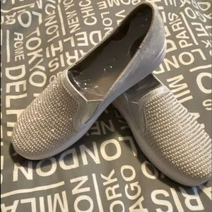 Woman's NWT and box Skechers slip on sneakers